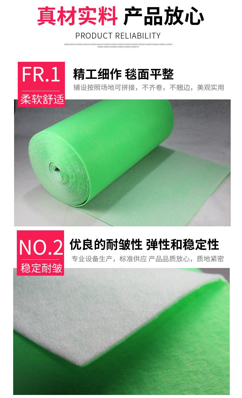 厂家直销中效空气过滤棉高效过滤棉高密度净化滤材绿白棉批发示例图5