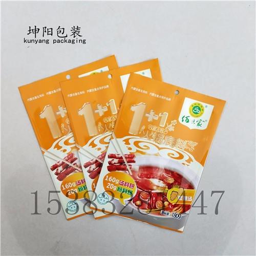 坤阳塑业方便面镀铝包装袋火锅调料中封包装袋设计