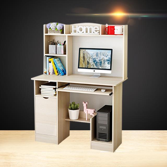 2018新款電腦桌  家具書桌學生桌  多功能家用學生簡約書桌