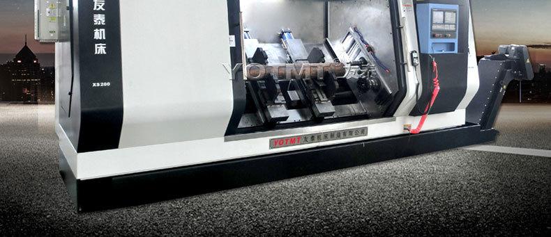 斜式铣打机XS160-2000斜床身多功能铣端面打中心孔机床示例图2