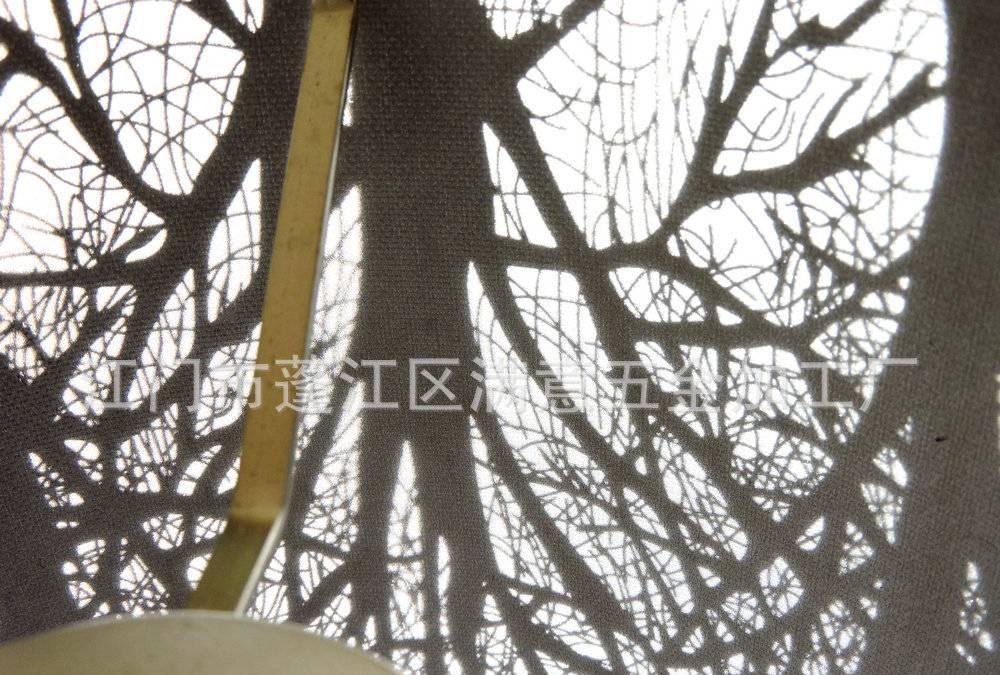 供给各式低级出有锈钢镂空灯罩 蚀刻出有锈钢壁灯灯罩D400*200示例图39