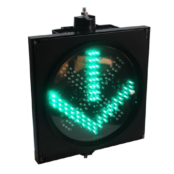 厂家直销LED交通车道指示器红叉绿箭隧道灯信号灯红绿灯图片
