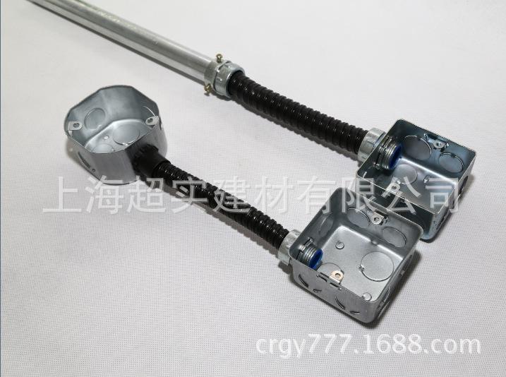 16包塑金属软管 蛇皮穿线管 波纹管厂家批发示例图9