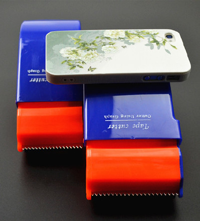 封箱器打包胶带大小号机胶带切割器蓝色封箱带切割面打包器手持示例图8