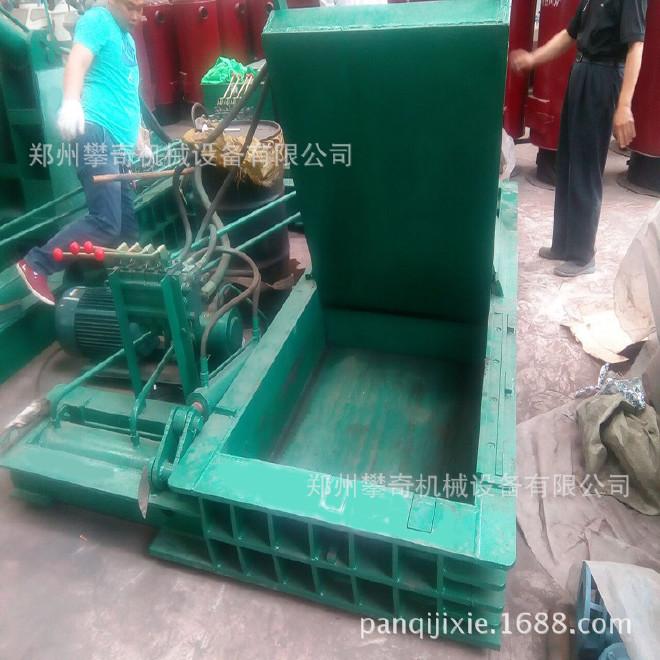 攀奇金属下角料压块机 废旧金属液压压块机 郑州废铁压块机厂家示例图4