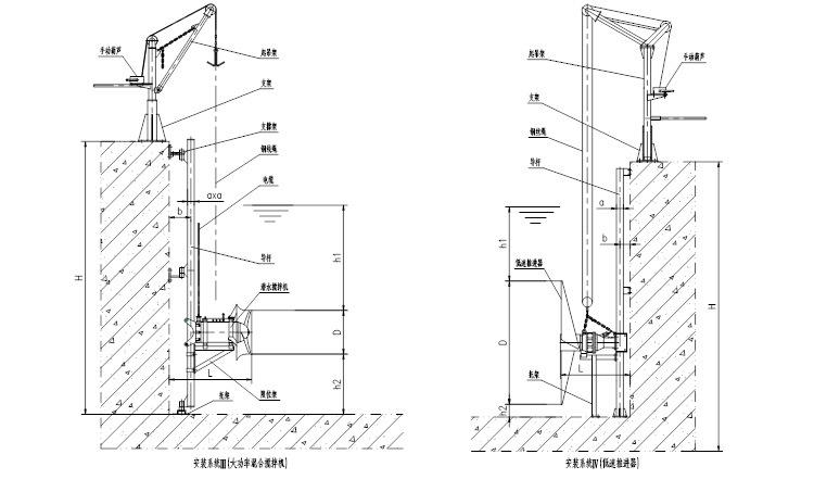 QJB潜水搅拌机 水下低速推流器 混合池工业污水废水处理全不锈钢示例图28