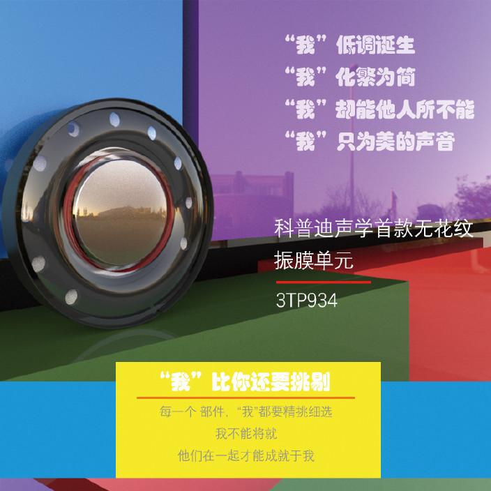 头戴式耳机喇叭40mm无花纹振膜HiFi发烧级单元高清人声解析图片