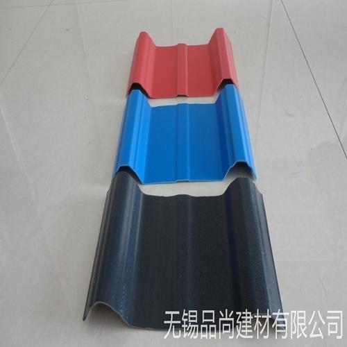 现货供应蓝色pvc瓦 塑钢瓦 钢结构厂房隔热防腐瓦品尚批发厂家