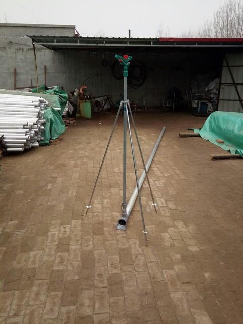 厂家直销 喷管配件 立杆 支架 方便体 铝合金喷头 塑料喷头