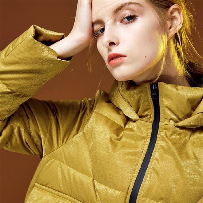 2018新款韩版贴牌加工棉服棉衣外套女装中长款大码加厚羽绒服图片