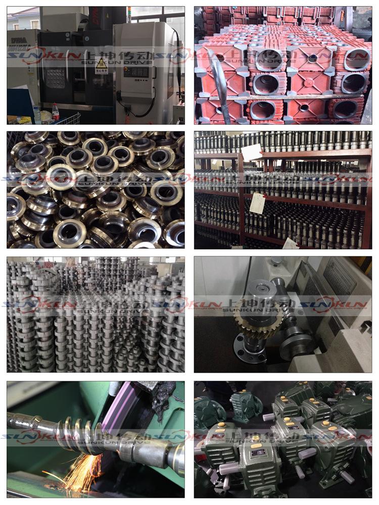 厂家特价蜗轮蜗杆WPA/S/X40-250减速机速比10/20/30/40/5060铁壳示例图12