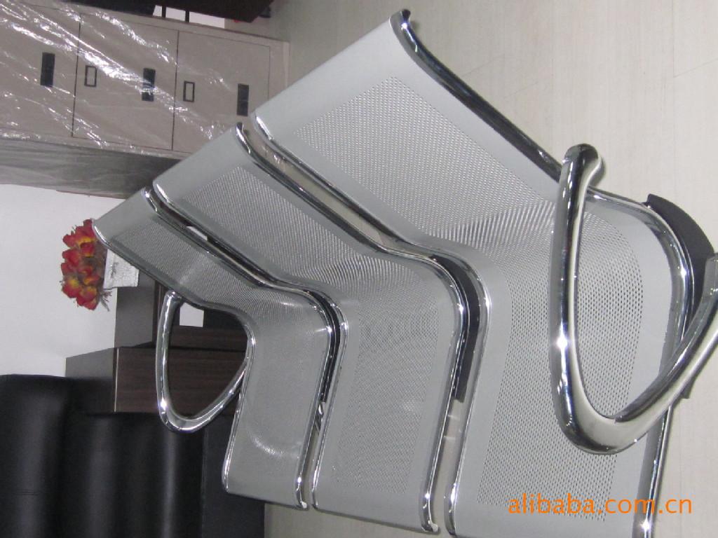 供应公共场合电镀连排椅银行等候椅机场候车椅