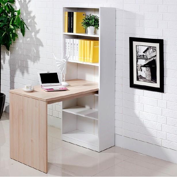 现代简约进口实木书柜书桌电脑桌书架学生柜展示柜收纳柜置物柜广州白云区韩森派工厂直销