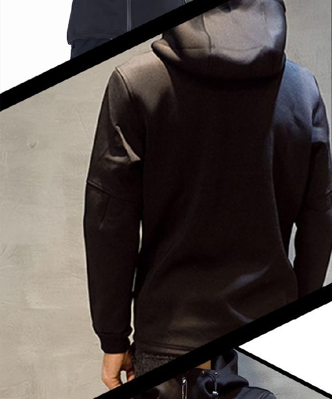 男式�l衣潮牌太�υE空棉�l衣定制�B帽�n版修身�_衫日系有利也有弊男�b棒球服外套示例�D10