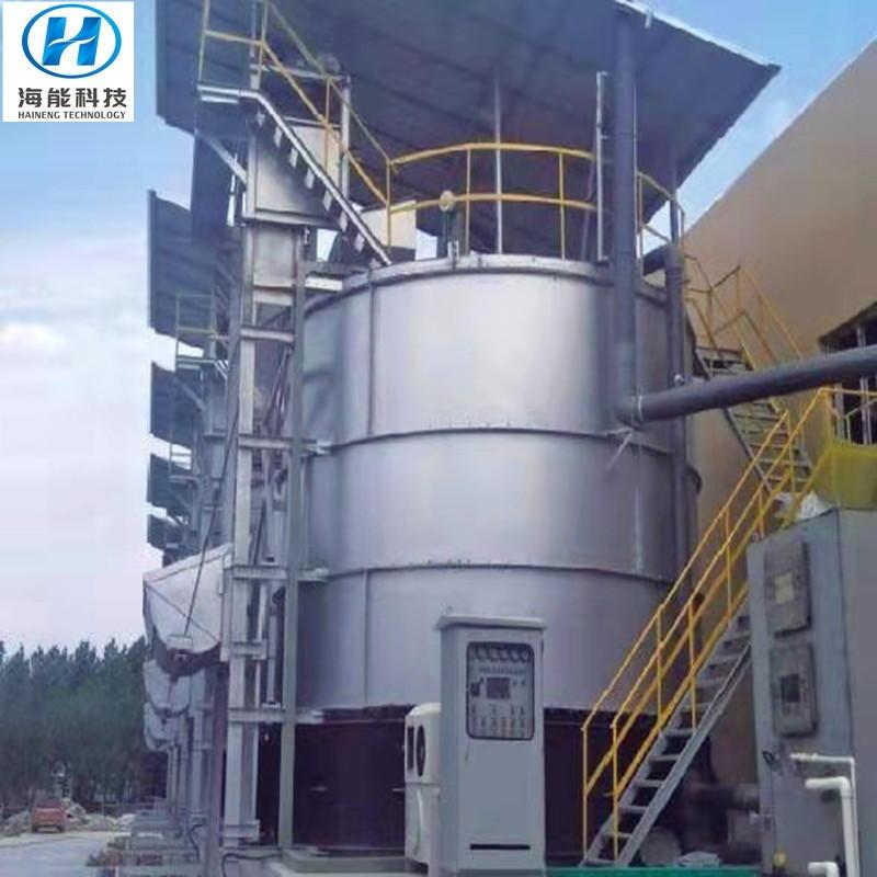 猪粪高温好氧发酵罐 有机肥发酵设备 海能科技提供一体化服务