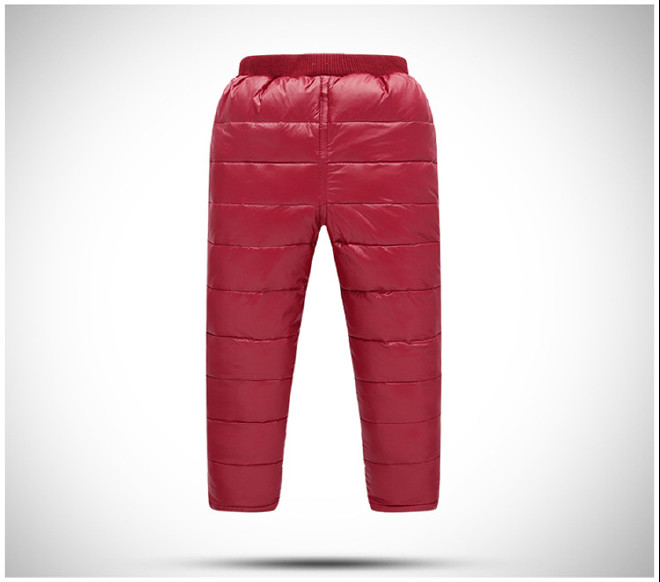 韩版爆款儿童羽绒裤批发秋冬新款儿童裤童装80%羽绒裤子一件发