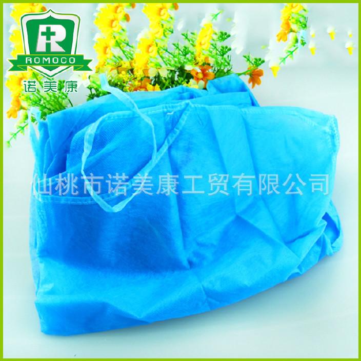 廠家出售 一次性藍色防護服 透氣膜防塵防靜電 防護衣定做