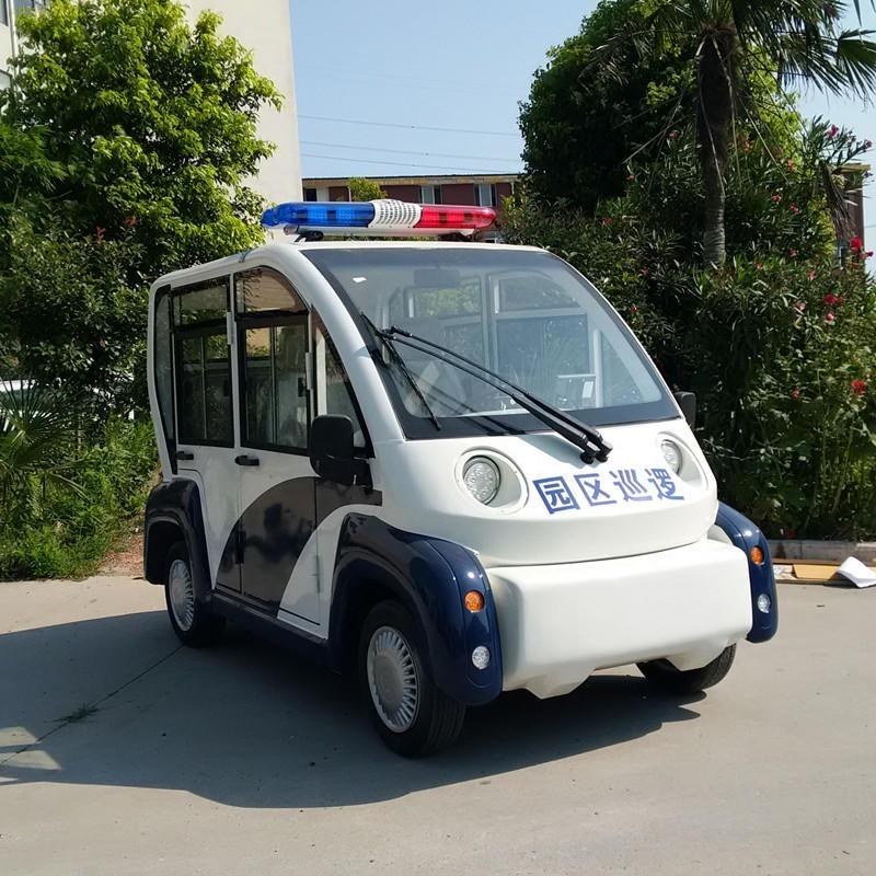 直銷4座5座一朗封閉電動巡邏車YL-XL04M 四輪電瓶執勤車 巡邏看房治安觀光車圖片