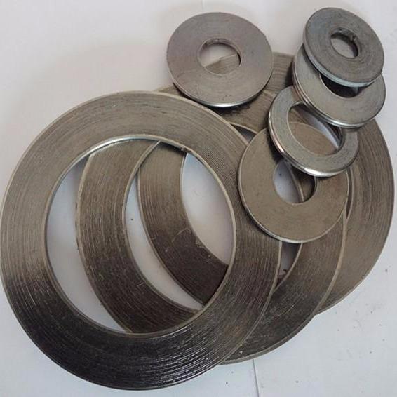廠家生產金屬石墨纏繞片 石墨墊片 金屬纏繞墊 304基本型金屬纏繞墊片 內外環加強型316不銹鋼高溫  石墨復合墊片