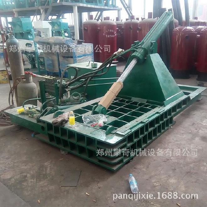 攀奇金属下角料压块机 废旧金属液压压块机 郑州废铁压块机厂家示例图3