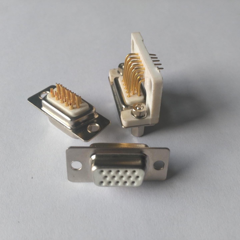 D型连接器  批发 东普电子 15芯D型连接器  D SUB连接器