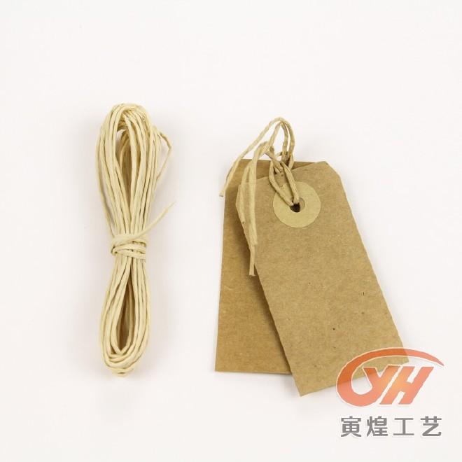 生產批發精美牛皮紙吊牌 環保材料吊卡 外貿裝飾紙卡廠家直銷圖片