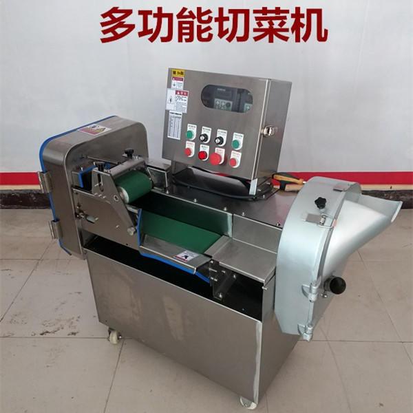 诺宜多功能切菜机 不锈钢自动韭菜大葱酸菜切菜机 商用多功能蔬菜切丝切段机