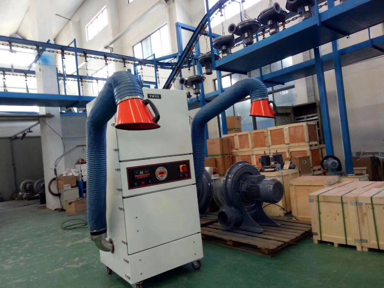 磨床吸尘器 工业集尘机 铁屑粉尘 残渣 收集专用工业除尘器示例图9