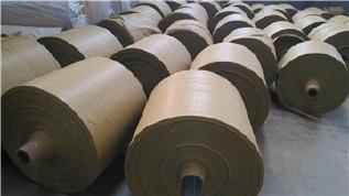 PP编织袋筒料生产厂家直销黄色半成品布卷 开边编织布可加工定做示例图10