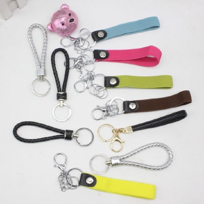 多色皮质手提绳玩具饰品包包挂件配饰可搭配钥匙扣图片