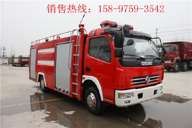 黑河庆铃举高喷射消防车,抢险救援消防车图片
