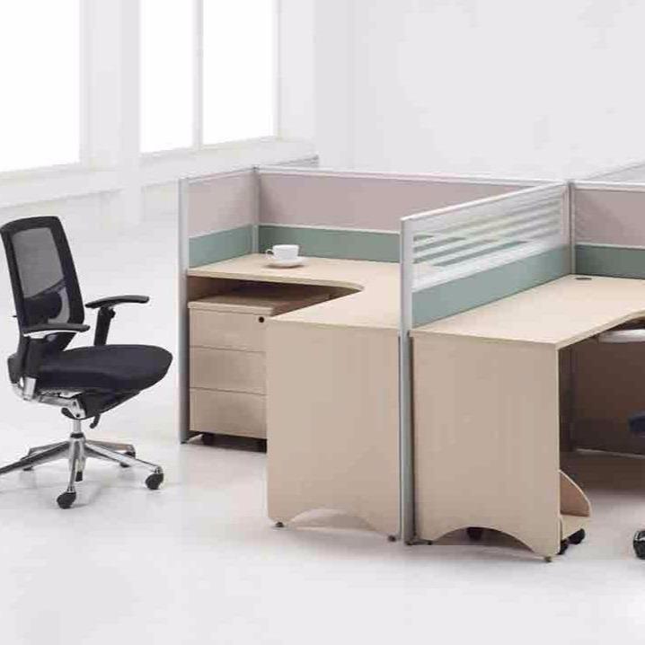 职员办公桌4人位6人位办公桌椅组合简易办公桌四人办公桌办公台图片