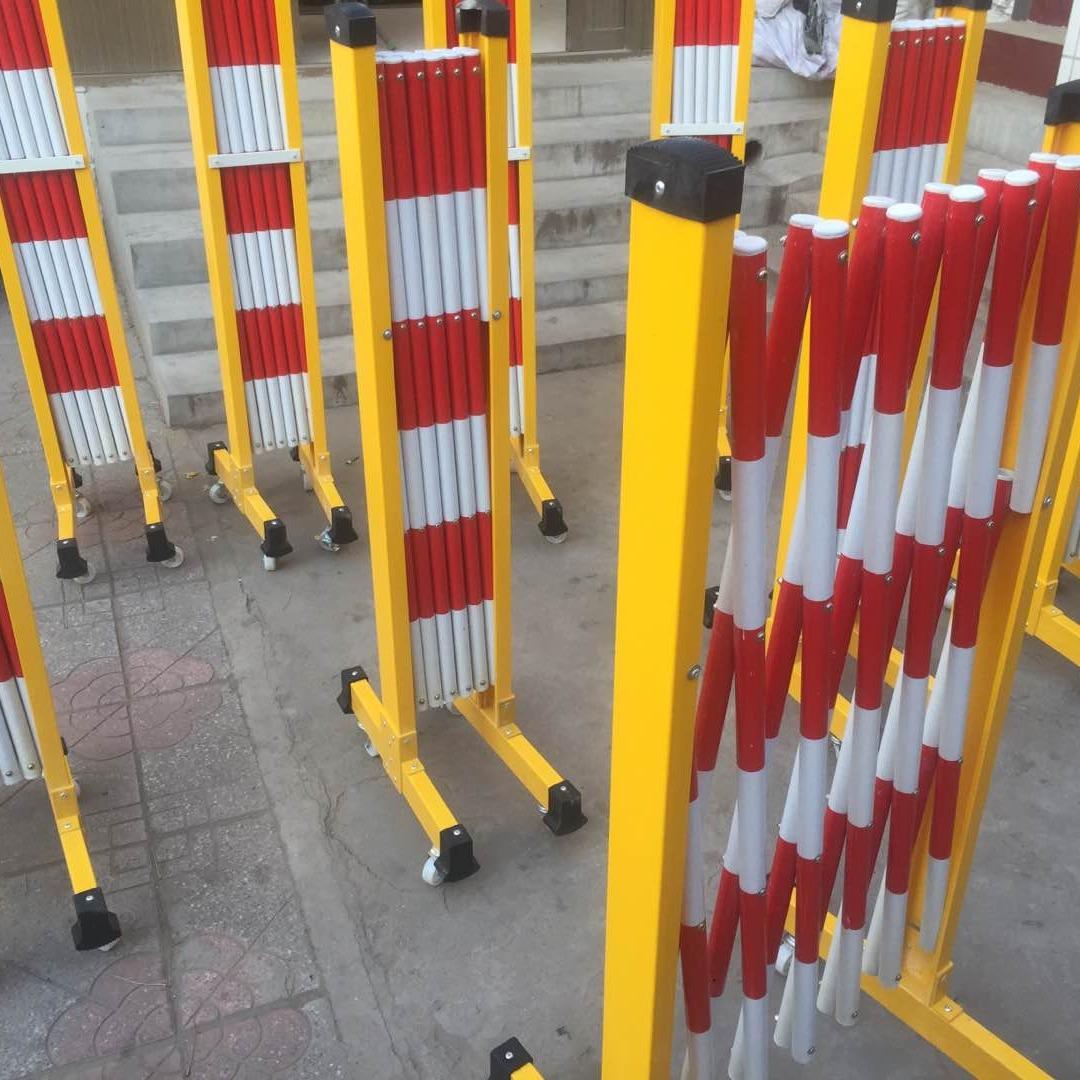 棗莊管式安全絕緣圍欄 紅白黃白隔離欄 警示可拆裝圍擋