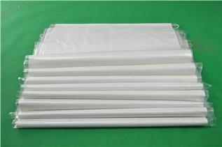白色中厚覆膜防水��袋40*65�子粉包�b袋再生料防水打包袋批�l示例�D9
