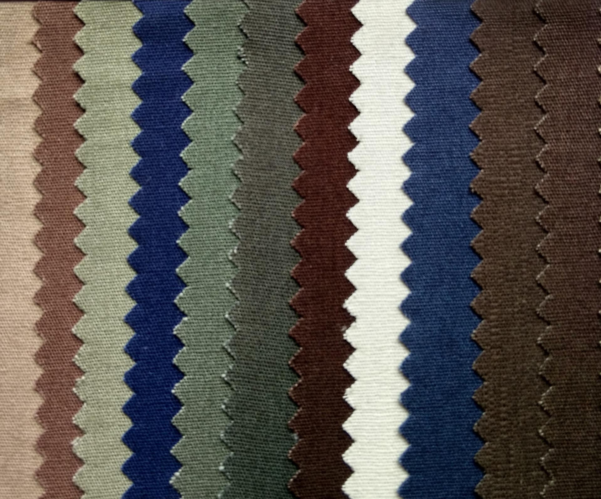 全棉6安珠帆平纹布 纯棉10050细珠帆全工艺服装用布示例图4