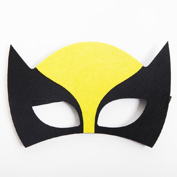 万圣节v水桶锻炼水桶图纸不织布DIY儿童毛毡海提眼罩面具装扮图片