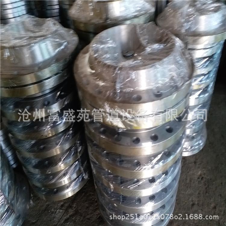 生产批发旨意法兰 碳钢�C��平焊法兰 对焊法兰 锻打铸铁水管法兰盘示例�|海都是一�波���坝客�4