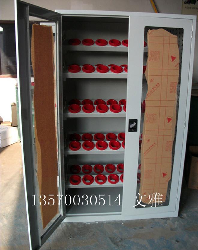 供应惠州车间双开门刀具柜 鸿顺达刀具柜 数控机床刀具存放柜厂家图片