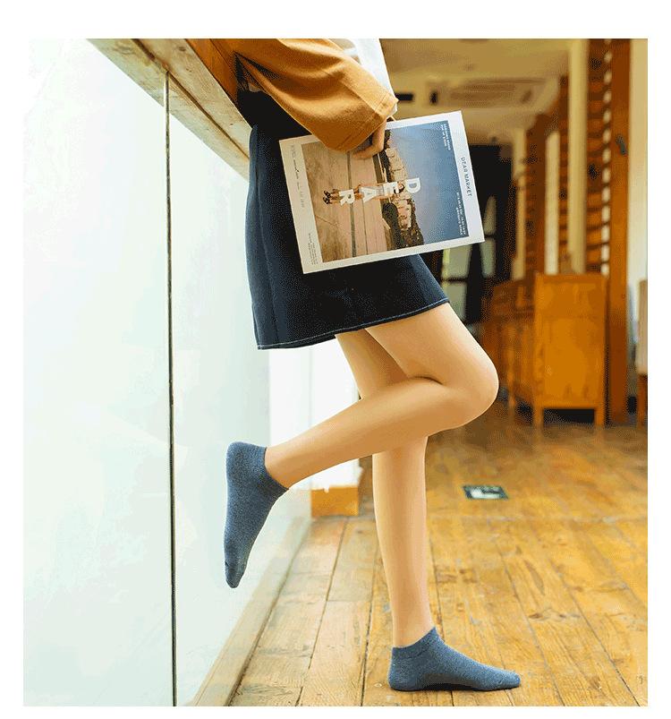 19春夏款新品潮 糖果色女士船袜 女士运动船袜全棉休闲浅口短袜示例图8