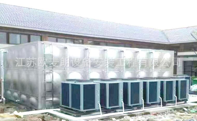 2高温空气能热泵热水器 外壳不锈钢空气能机组 热水器厂家示例图10