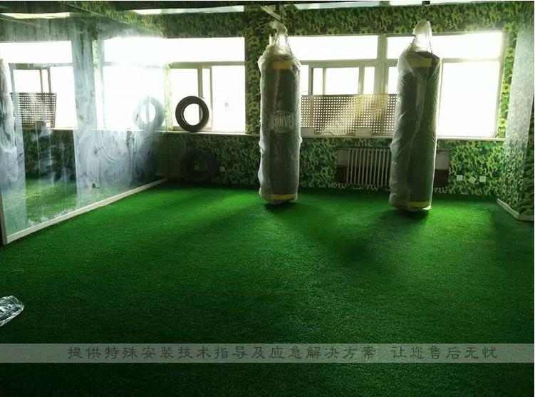 人造仿真草坪地毯幼兒園草坪婚禮展覽運動草坪人工塑料假草皮批發示例圖25