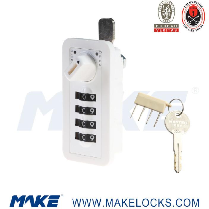厂家直销 密码锁MK707健身房更衣柜密码锁 办公钢柜文件柜密码锁