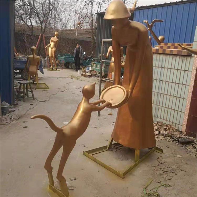 铸铜雕塑 铜雕人物 铸铜人物雕塑 铜雕厂 唐韵园林