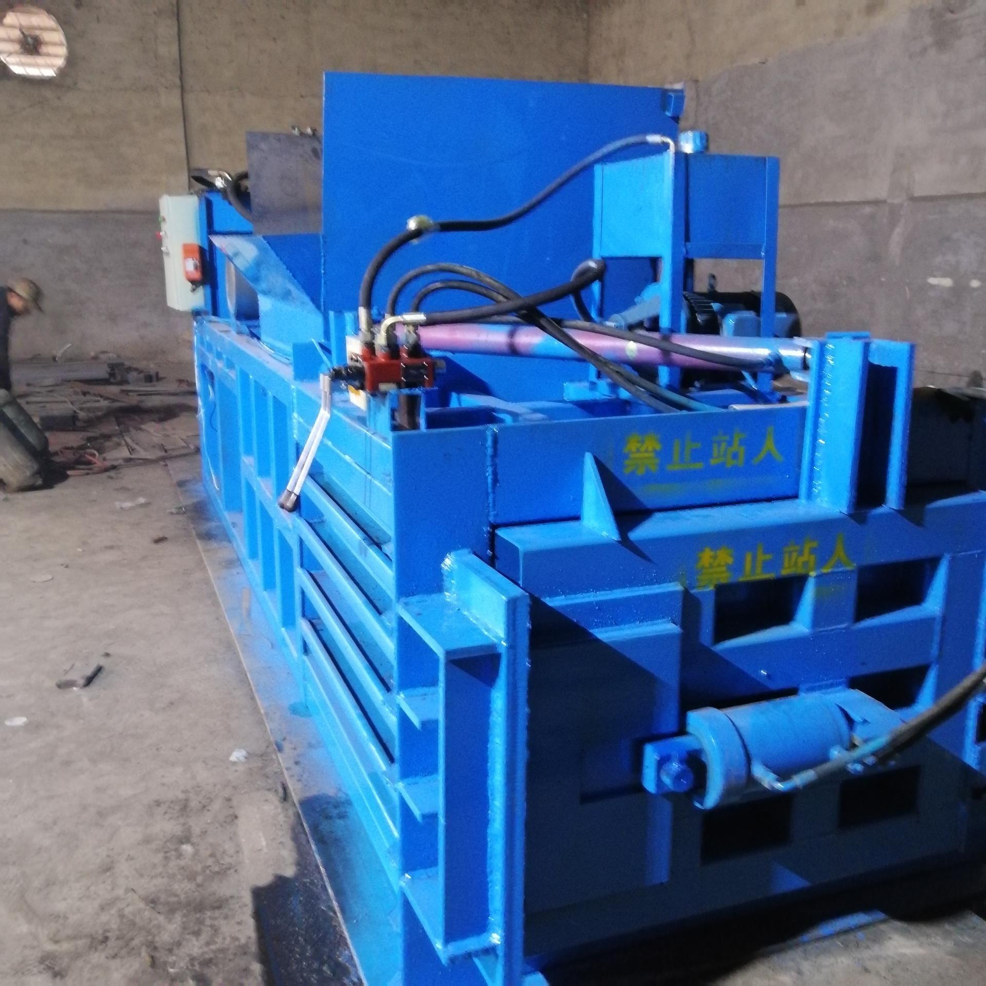 明宇熱銷大型廢紙臥式液壓打包機 全自動編織袋臥式打包機