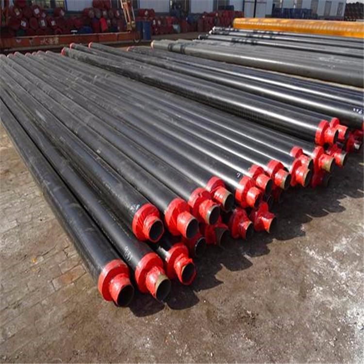 熱力集中供暖 聚氨酯預制直埋保溫無縫鋼管 聚氨酯保溫管
