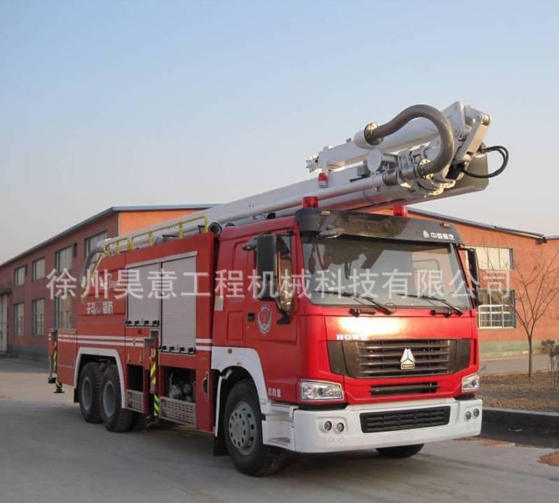 18米举高喷射消防车 高喷车 消防高喷举升机构 厂家直销价格图片