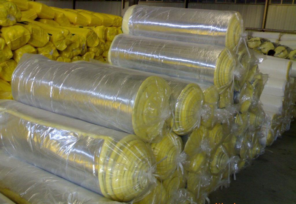 防火隔热隔音玻璃棉卷毡批发特价 保温吸音建材环保铝箔隔热板