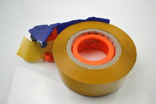 高粘度透明、黄色胶带4cm宽肉厚2.5cm封箱打包胶纸封口胶带批发示例图14