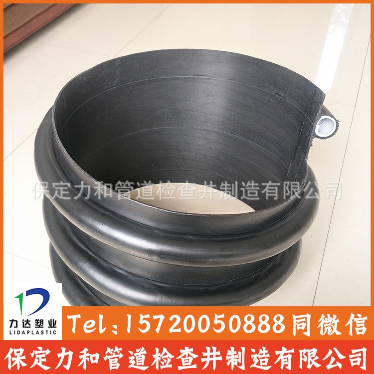 保定力和管道专业生产克拉管 聚乙烯缠绕结构壁管B型 100%全新料示例图10