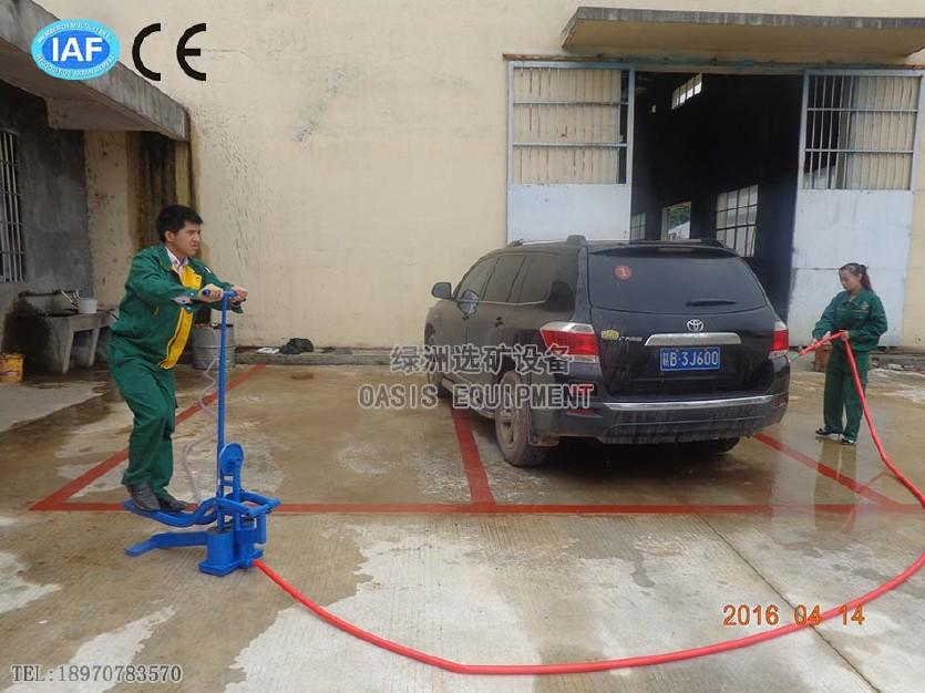 厂家直供脚踏水泵 便携式脚踏抽水泵 不耗油不耗电的农田灌溉泵
